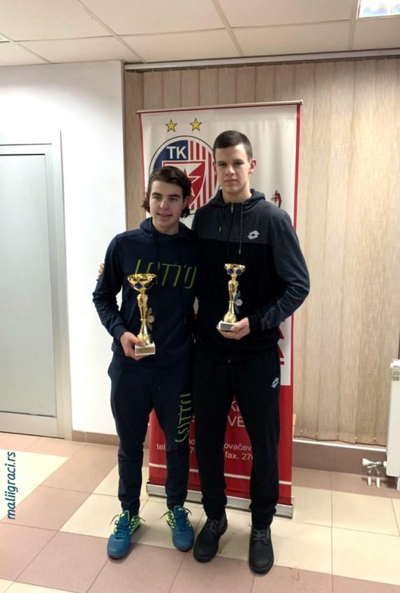 Стефан Поповић победник ITF Božićnog turnira 2019 у Београду