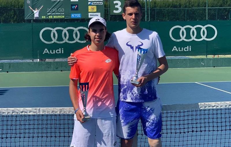 Stefan Popović, Simeon Terziev, J3 Limassol 2019 ITF, TK Famagusta Limasol Kipar, ITF World Tennis Tour