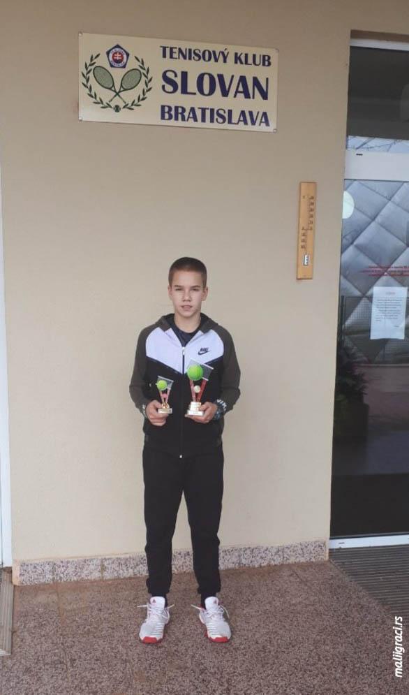 "Zoran Ludoški, TEJT U1 ""SLOVAN OPEN U14 2019"" Bratislava, Tennis Europe Junior Tour"