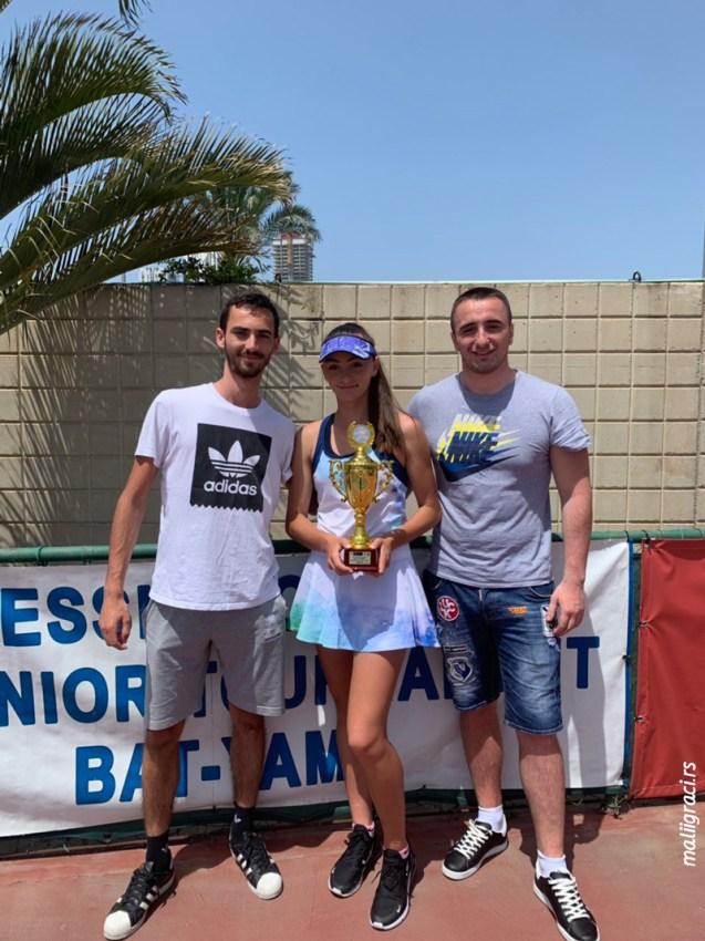 Фатма Идризовић освојила прву ITF титулу на турниру Messika Open (4. разреда) у Израелу