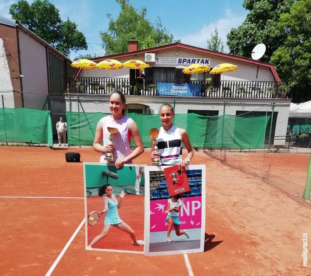 Anđela Lazarević, Ema Midžić, VII MEMORIJAL JOVANA KUKARASA 2019 U14, Teniski klub Spartak Subotica, Tennis Europe Junior tour