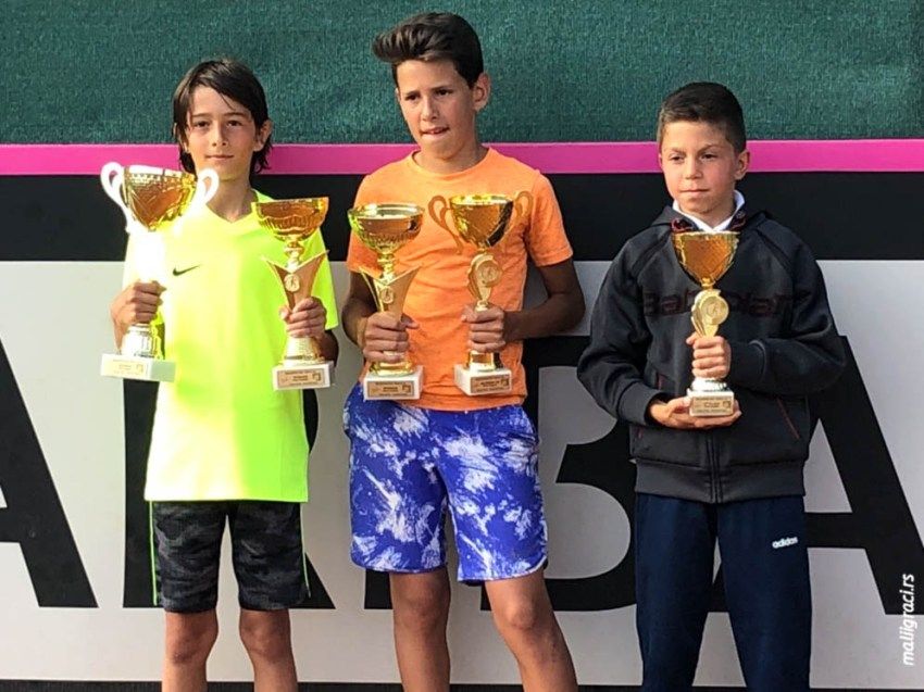 Bellevue Cup 2019, U12 Tennis Europe, Улцињ, Црна Гора, 29.4-5.5.19.