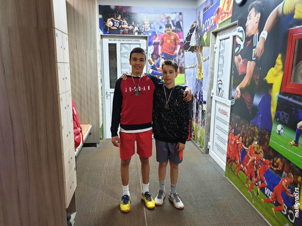 Jovan Matović, Todor Vukomanović, Otvoreno prvenstvo Sombora za dečake do 14 godina, Teniski klub Orange Sombor