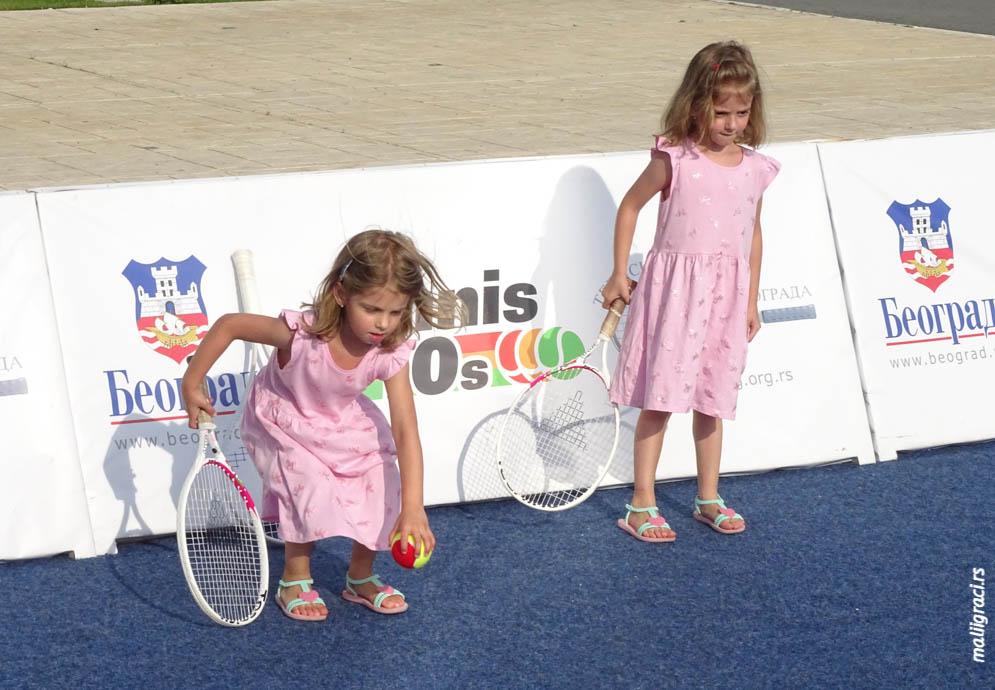 Ritam leta teniski vikend u Beogradu, Delta City, Teniski savez Beograda