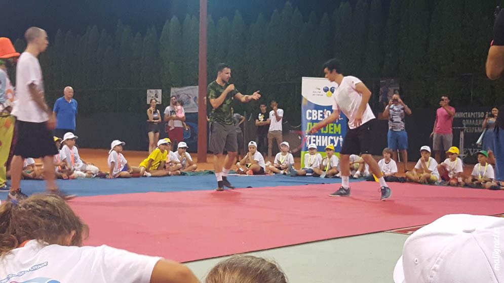 Svečano otvaranje 23. međunarodni teniski turnir Kup nada 2019 Brčko, Teniski klub Sol Brčko