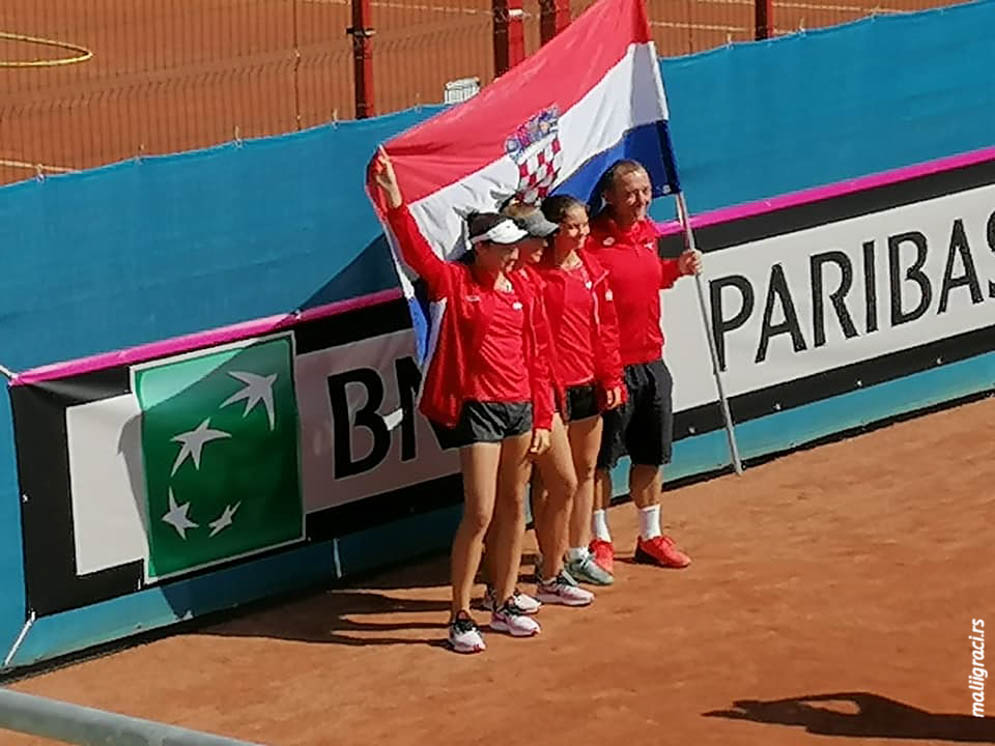 Lucija Ćirić Bagarić, Antonia Ružić, Sara Svetac, Robert Brkljač, European Summer Cups 2019, Tennis Europe Junior Tour