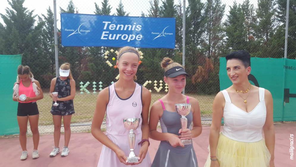 Jelena Gojković, Elena Palioura, KILKIS CUP U16 Kilkis Grčka, Tennis Europe Junior Tour