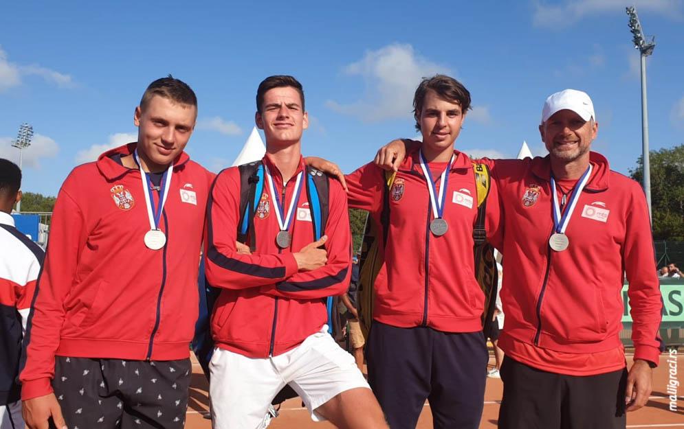 Hamad Međedović, Stefan Popović, Petar Teodorović, Vladimir Krstić, European Summer Cups 2019, Tennis Europe Junior Tour