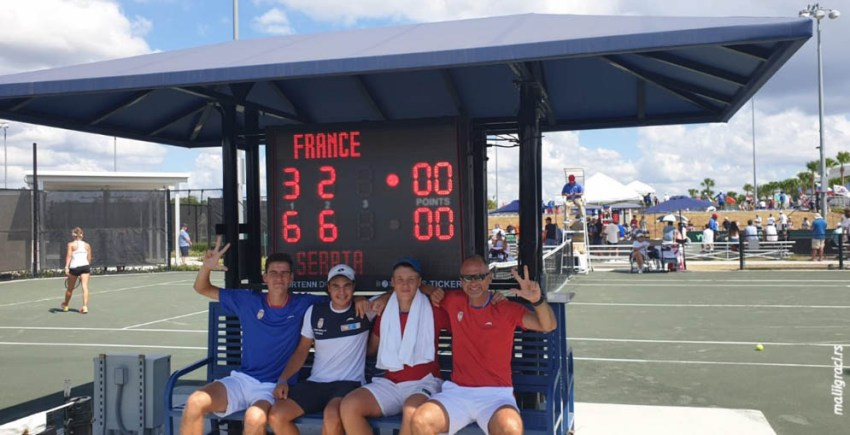 Junior Davis and Fed Cup by BNP Paribas Finals, U16, Флорида, САД, 24-29.9.2019.