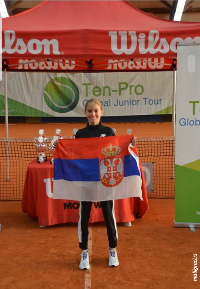 Luna Vujović, Ten-Pro BASE 11&under Stars of Tomorrow
