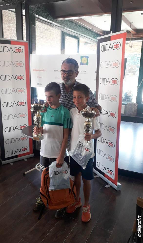Marko Nešić, Skender Katana, INKOPROM CUP 2019 U12 Banja Luka, Teniski klub Borac Banja Luka, Tennis Europe Junior Tour