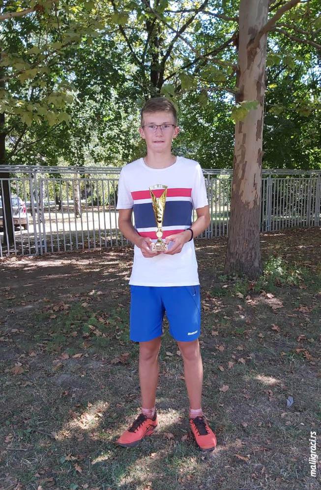 Mali teniser Marko Pekarević, TK Kikinda