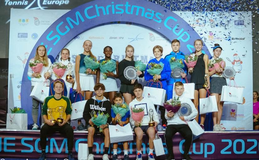 Martin Landaluce, Atakan Karahan, Dmitry Bessonov, Hephzibah Oluwadare, ONE SGM Christmas Cup 2020, Akademija Aleksandar Ostrovski Moskva Rusija