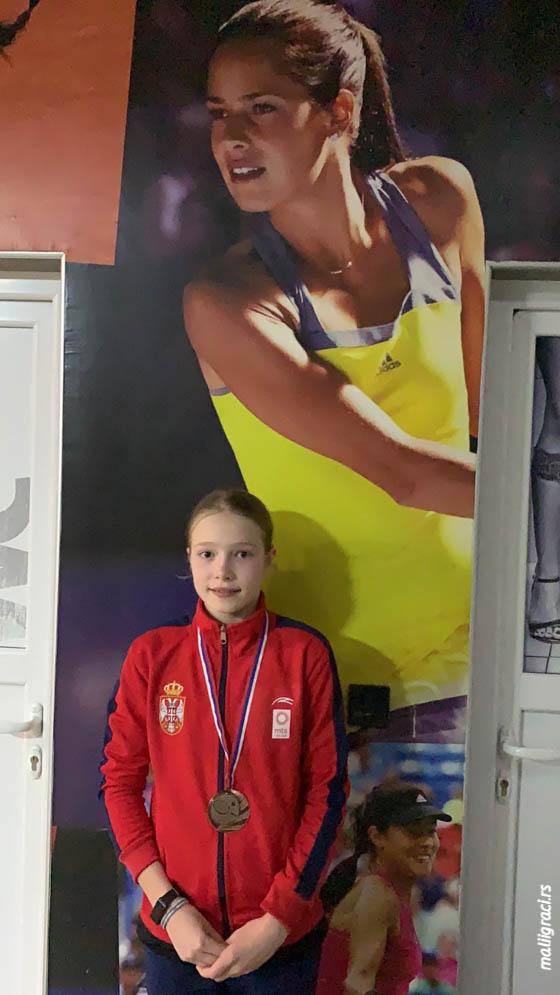 Aleksandra Đokić, Kup Srbije za devojčice do 14 godina, Teniski klub Orange Sombor