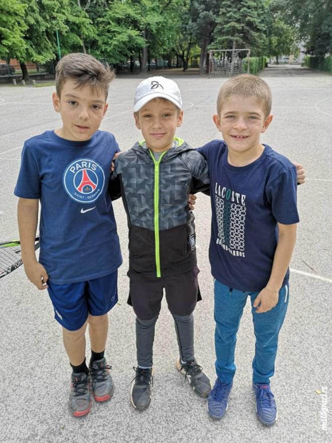 Petar Jurišić, Viktor Višnić, Nikola Stefanović, Otvoreno prvenstvo Novog Sada za dečake do 10 godina zeleni nivo, TU BMK TENIS Novi Sad