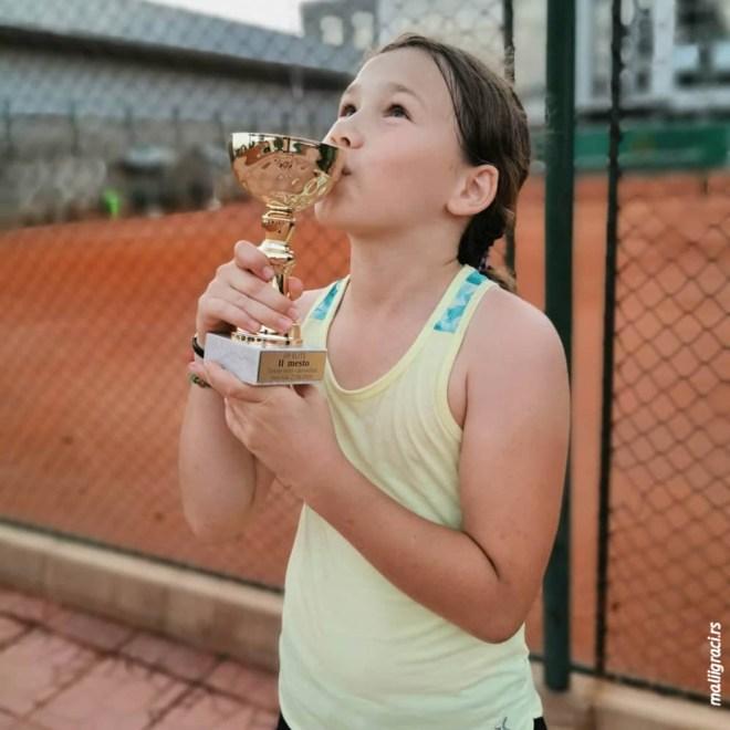 Hana Ilić, Otvoreno prvenstvo Novog Sada za dečake do 10 godina zeleni nivo, Teniska akademija Elite Novi Sad