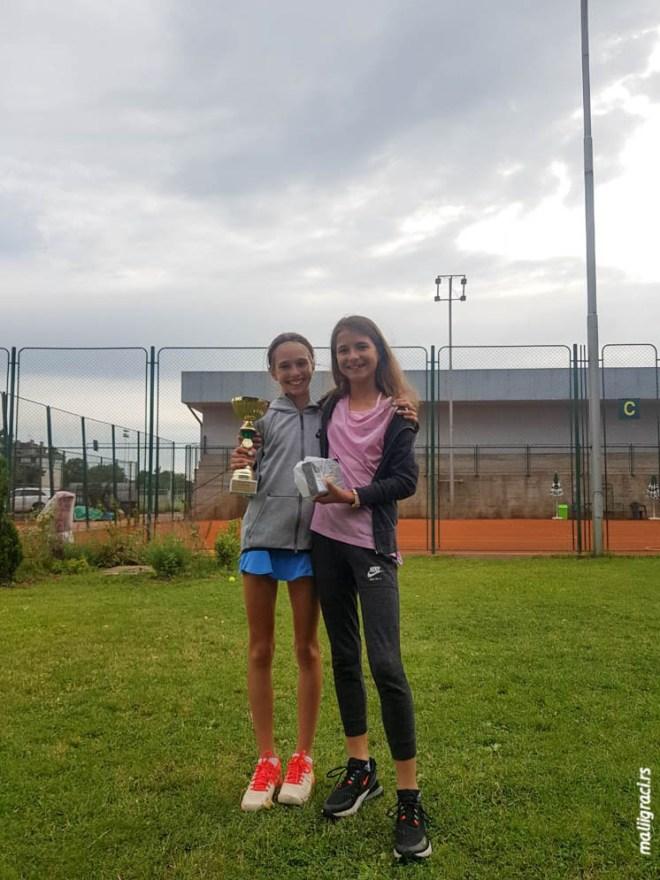 Luna Vujović, TSS Tour TA Elite Novi Sad do 12 godina, Teniska akademija Elite Novi Sad, Teniski savez Srbije