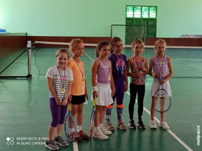 Otvoreno prvenstvo Jagodine do 8 godina crveni nivo, Jagodinski Teniski klub, Teniski klub Jagodina