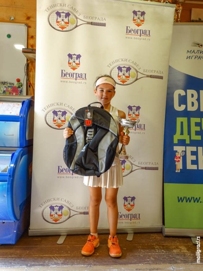 Daria Mikriukova, Champions Bowl Serbia 2020, Champions Bowl Srbija 2020, Trofej grada Beograda, dečji teniski turnir 13. teniske nade, TK Haron Beograd