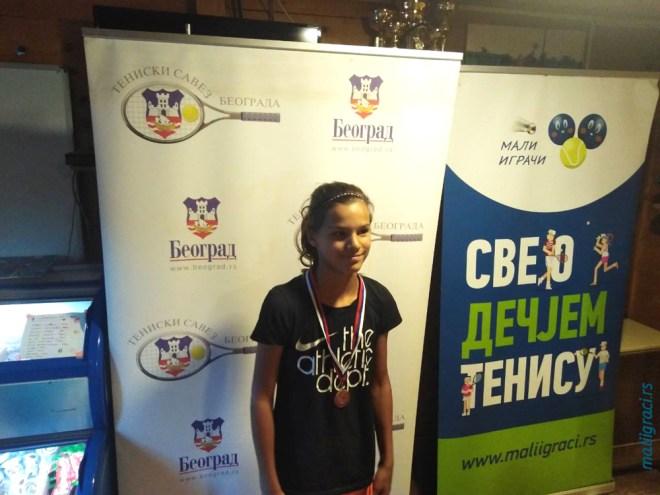Iris Kresović, Champions Bowl Serbia 2020, Champions Bowl Srbija 2020, Trofej grada Beograda, dečji teniski turnir 13. teniske nade, TK Haron Beograd