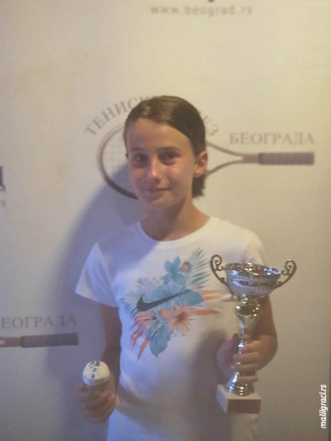 Lana Petković, Champions Bowl Serbia 2020, Champions Bowl Srbija 2020, Trofej grada Beograda, dečji teniski turnir 13. teniske nade, TK Haron Beograd