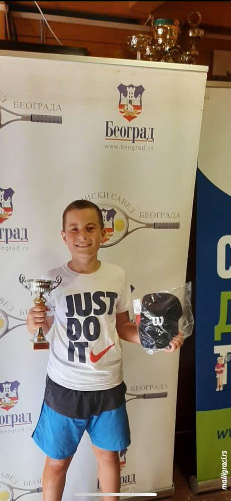 Tarik Pepić, Champions Bowl Serbia 2020, Champions Bowl Srbija 2020, Trofej grada Beograda, dečji teniski turnir 13. teniske nade, TK Haron Beograd