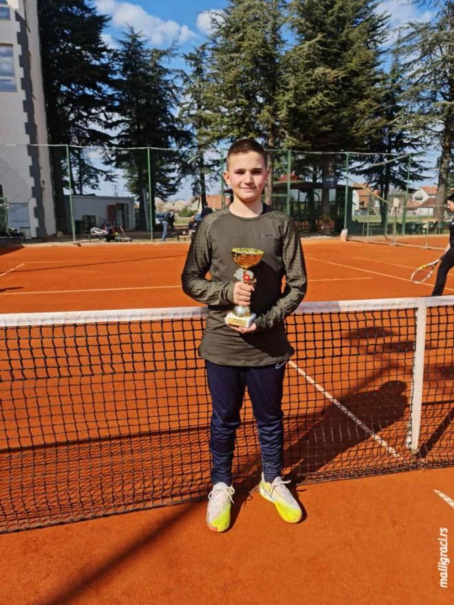 Ilija Ilić, Otvoreno prvenstvo Pančeva za dečake do 12 godina, Teniski klub Mladost Pančevo, Teniski centar Pop Court Pančevo
