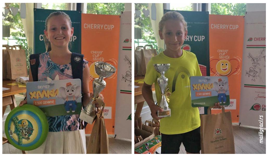 Anjel Hoxha, Ares Ferhati, Zeleni nivo, Cherry Cup Skopje 2021, međunarodni dečji turnir u Skoplju Cherry Cup Severna Makedonija, Cherry Sport, ATK Premium Klub Skopje