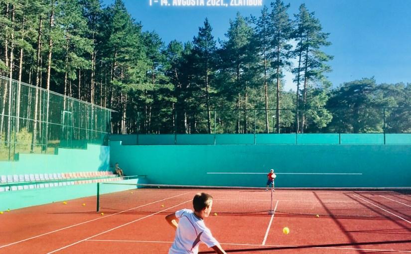 Letnji teniski kamp EVOLUTION 2021, Kamp Dejana Vukojičića na Zlatiboru, Evolution Kids Tennis, teniski trener Dejan Vukojičić