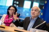 Malika BENARAB-ATTOU (eurodéputée Les Verts/ALE) et Omar BRIXI (médecin et enseignant en santé publique)