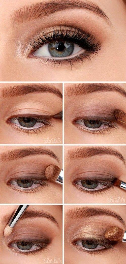 Макияж для зеленых глаз: пошаговое фото 10 вариантов