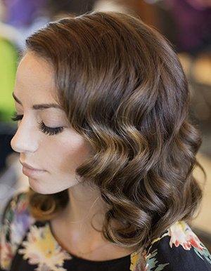 Прически в стиле ретро: волна, на длинные, средние волосы ...