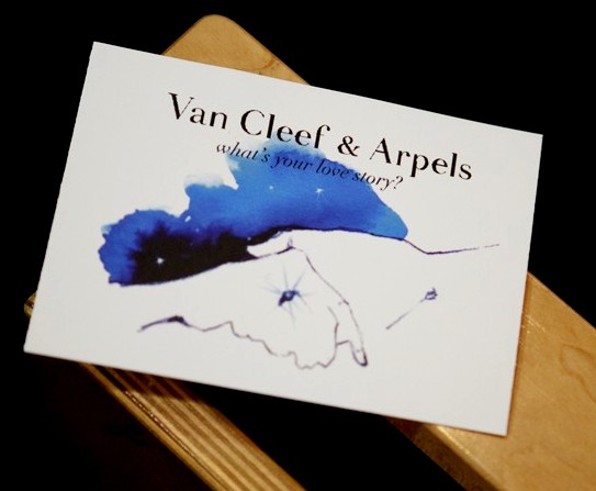 Van Cleef & Arpels Presentation Share Your Love Story Cards: Photo by Lexie Moreland