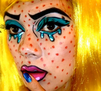 halloween-makeup-facepaint-face-paint-costume-pop-art