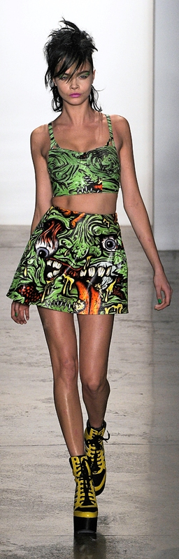 Funky Street Style Grunge Punk And Pop Art On The Runway During Nyfw Fw 2013 Malinda Knowles