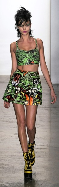 Ready to Wear Fall Winter 2013 Jeremy Scott New York Fashion Week Feb 2013