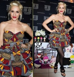 Gwen in African Print
