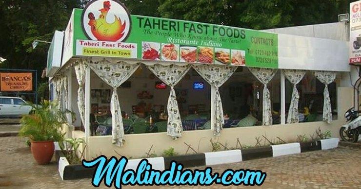 Malindi cafes on Malindians - Caffè Malindi