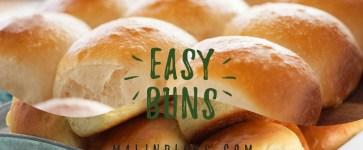 Easy buns – Recipes za Watu wa Malindi
