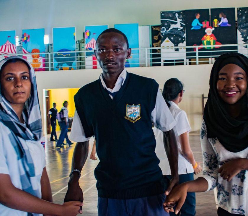 Barani Secondary school students Istruzione a Malindi