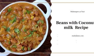maharagwe ya nazi beans with coconut milk recipe - Beans with Coconut milk(Maharagwe ya Nazi)