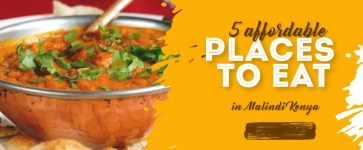 5 affordable places to eat in Malindi by Moureen Salome