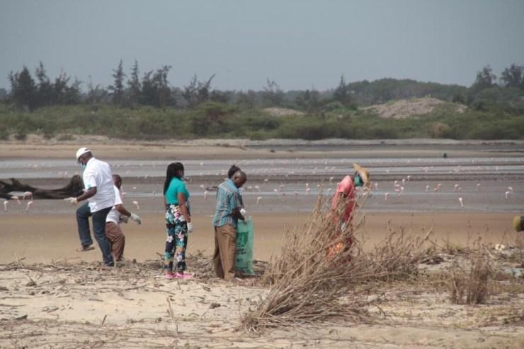 Clean up taken to the River Sabaki Estuary 99 - Clean-up taken to the River Sabaki Estuary