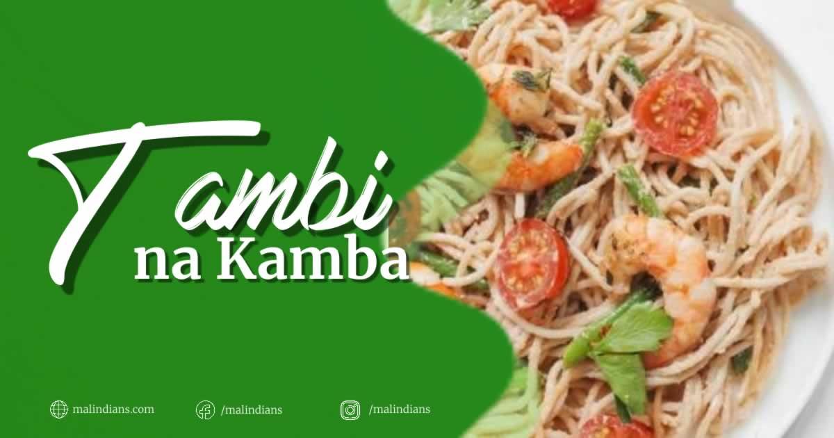 Jinsi ya kutengeneza tambi na kamba - malindians