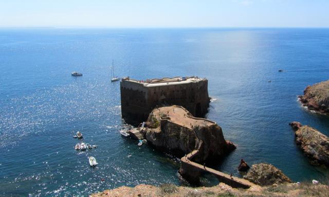 Fort Sao Joaro Island Portugal