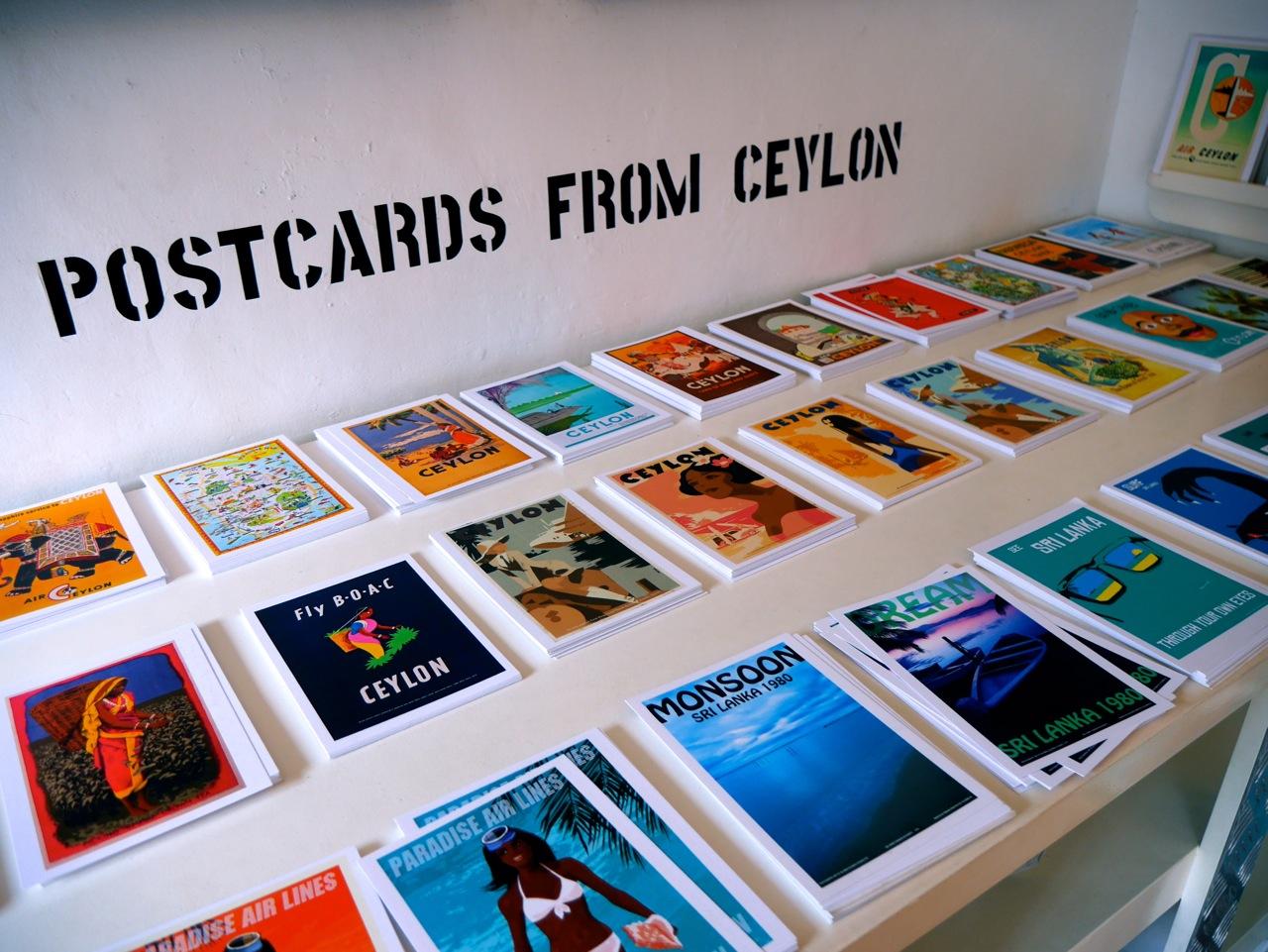 SriLanka Galle oldCity sticknobills postcards
