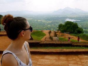 Sri Lanka Sigiriya Rock me malindkate