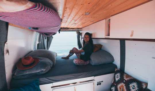Vanlife Girl Travel Campervan conversion
