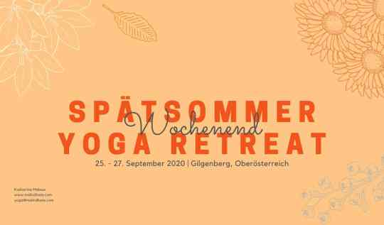 september yoga retreat Österreich Oberösterreich Meditation Vollmond