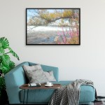 Fine Art Print of By the Flowing River by Malinee Ganahl